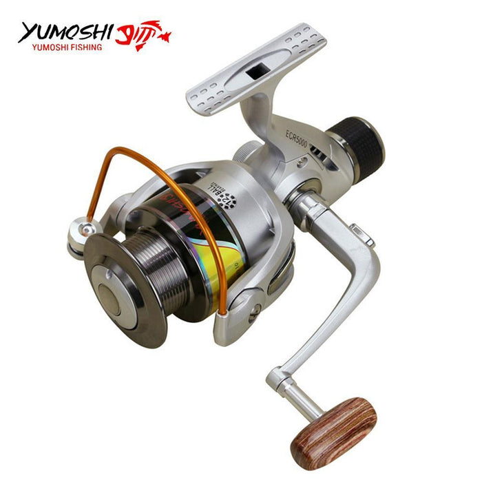 Fishing Reels Back Brake Wheel Metal Spool And Rocker Arm 12 Ball Bearing-Spinning Reels-HD Outdoor Equipment Store-2000 Series-Bargain Bait Box