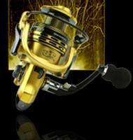 Fishing Reels Metal Rocker Arm Xf1000-7000 Series Spinning Reel Eva Handle-Spinning Reels-Even Sports-Gold-2000 Series-Bargain Bait Box