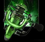 Fishing Reels Metal Rocker Arm Xf1000-7000 Series Spinning Reel Eva Handle-Spinning Reels-Even Sports-Green-2000 Series-Bargain Bait Box