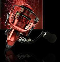 Fishing Reels Metal Rocker Arm Xf1000-7000 Series Spinning Reel Eva Handle-Spinning Reels-Even Sports-Red-2000 Series-Bargain Bait Box