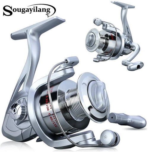 Fishing Reels Speed 5.2:1 Gear Ratio Right/Left Hand Sea Fishing Reel-Fishing Reels-Sougayilang Co,Ltd Store-1000 Series-Bargain Bait Box