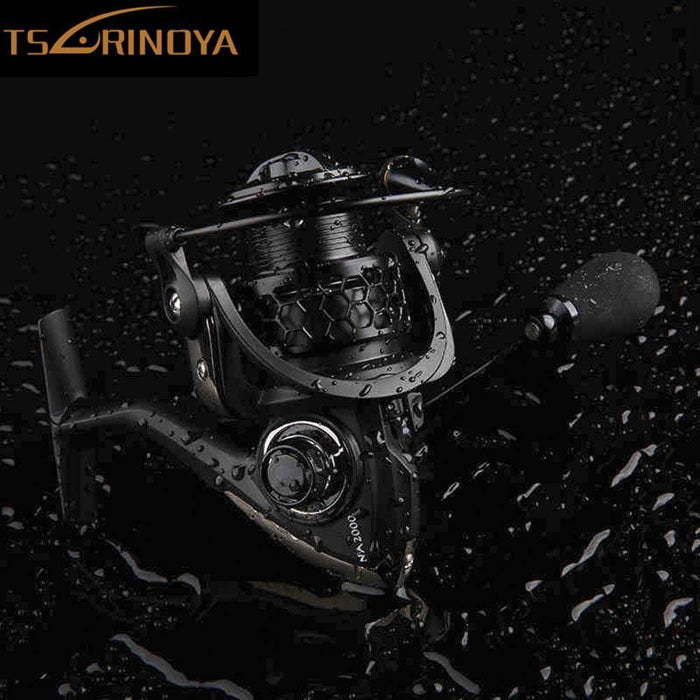 Fishing Reels Tsurinoya Na2000 3000 4000 5000 9Bb 5:2:1 Fishing Reels Spinning-Spinning Reels-Shenzhen Outdoor Fishing Tools Store-2000 Series-Bargain Bait Box