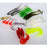 Fishing Soft Kit 22 Pieces Baits Snakehead Fish Shrimp Crank Hook Jig Head T-Soft Bait Kits-Bargain Bait Box-Bargain Bait Box