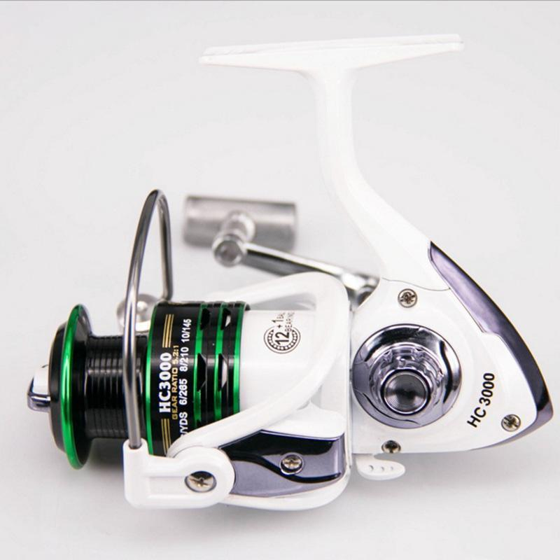 Fishing Spinning Reel 12+1Bb 1000-7000 Series Baitcasting Reel None-Slip Metal-Spinning Reels-MASALING CO.,LTD-1000 Series-Bargain Bait Box