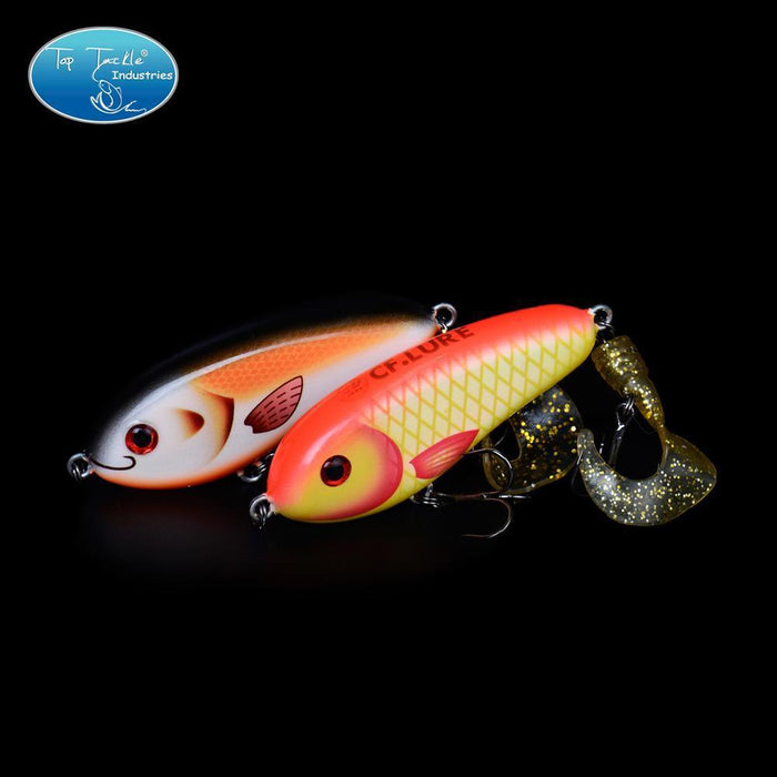 Fishing Tackle Wholesale Fishing Lure Jerk Bait Little Darling (80Mm 28G)-With-TOP TACKLE INDUSTRIES-80mm soft tail 001-Bargain Bait Box