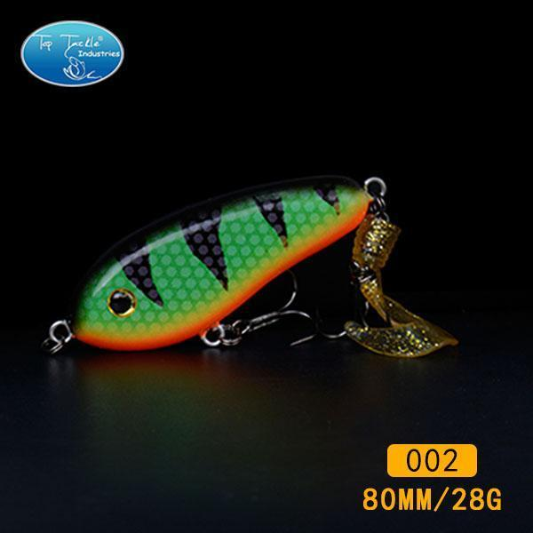 Fishing Tackle Wholesale Fishing Lure Jerk Bait Little Darling (80Mm 28G)-With-TOP TACKLE INDUSTRIES-80mm soft tail 002-Bargain Bait Box