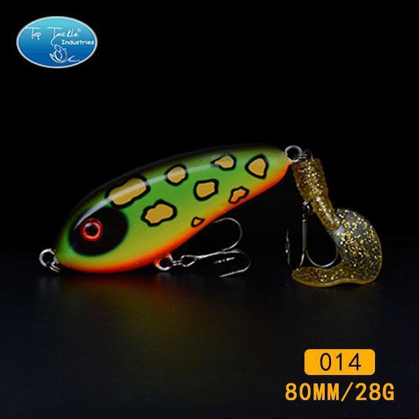 Fishing Tackle Wholesale Fishing Lure Jerk Bait Little Darling (80Mm 28G)-With-TOP TACKLE INDUSTRIES-80mm soft tail 014-Bargain Bait Box