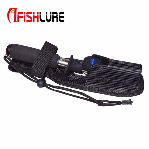 "Fishing Tools Bag 27Cm/10.6""Black Lure Bag Fishing Plier Packing Rod Taking-Fishing Rod Bags & Cases-Bargain Bait Box-Bargain Bait Box"