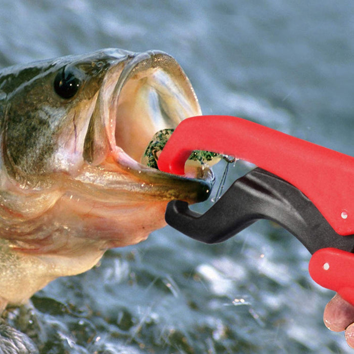 Floating Fish Gripper Lip Grip Fishing Pliers Grabber Clamp Griper Tools Plastic-Cherie's Store-Bargain Bait Box