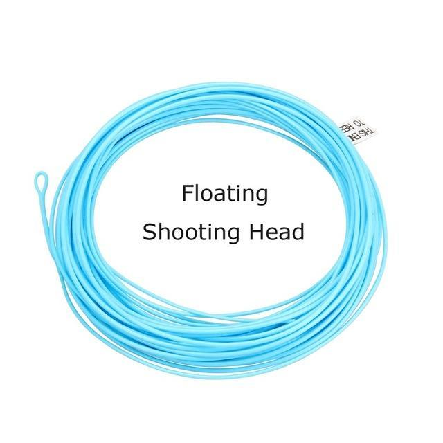 Fly Fishing Shooting Head 5 6 7 8Wt Sinking Floating Fly Fishing Line 30Ft-Angler Dream Official Store-Sky Blue-30FT SH5F-Bargain Bait Box