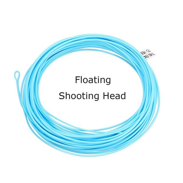 Fly Line 5S/6S/7S/8S 30Ft Floating / Sinking Blue Fly Fishing Line Shooting Head-AnglerDream Store-Sky blue-30FT SH5-Bargain Bait Box