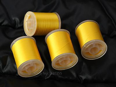 Fly Tying Thread 75 Denier Choose From 12 Colors,220 Yd Per Spool Lures-Fly Tying Materials-Bargain Bait Box-Gold-Bargain Bait Box