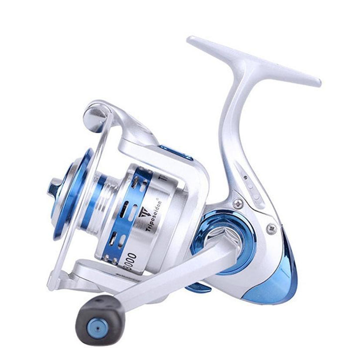 Free Fishing 13Bb Metal Spinning Fishing Reel Dual Ball Bearings With Spare-Spinning Reels-Sequoia Outdoor Co., Ltd-2000 Series-Bargain Bait Box