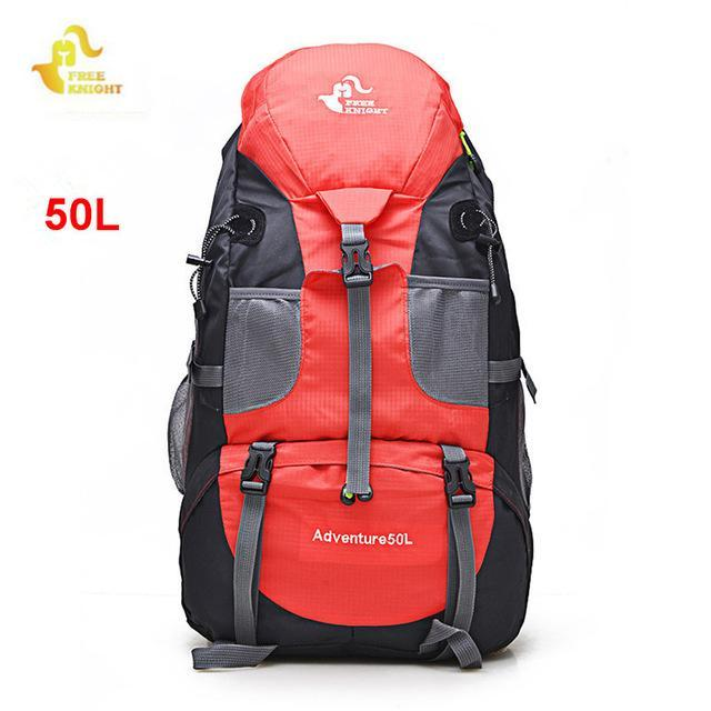 3e6ff7bed Free Knight 60L Camping Hiking Backpacks Bag Nylon Outdoor Travel Bags  Backpacks-Lucky Sports Club