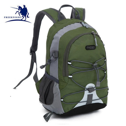 Free Knight Candy Color Outdoor Sport Kids Mini Backpack Lightweight Hiking-Let's Travel Store-dark green-Bargain Bait Box