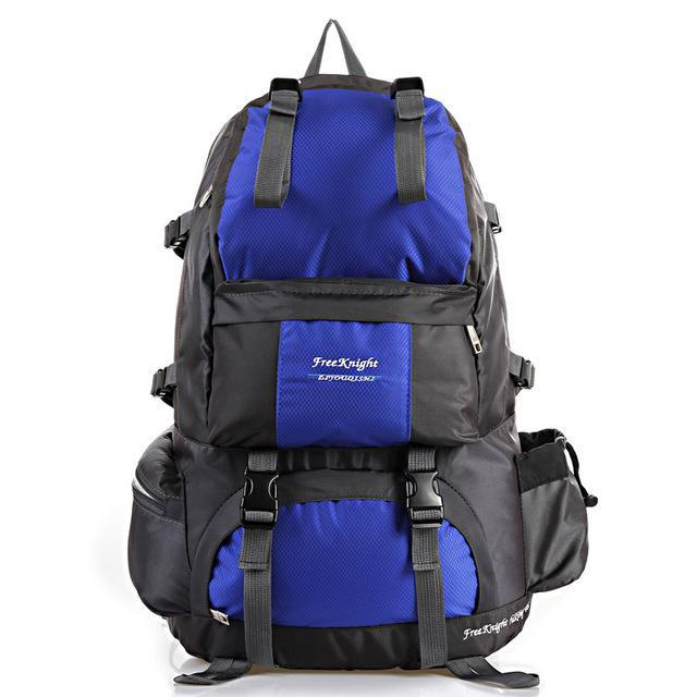 Free Knight Hiking Backpack 50L Waterproof Sports Bag Big Capacity Outdoor-Style Me Fitness Sport-Blue-Bargain Bait Box