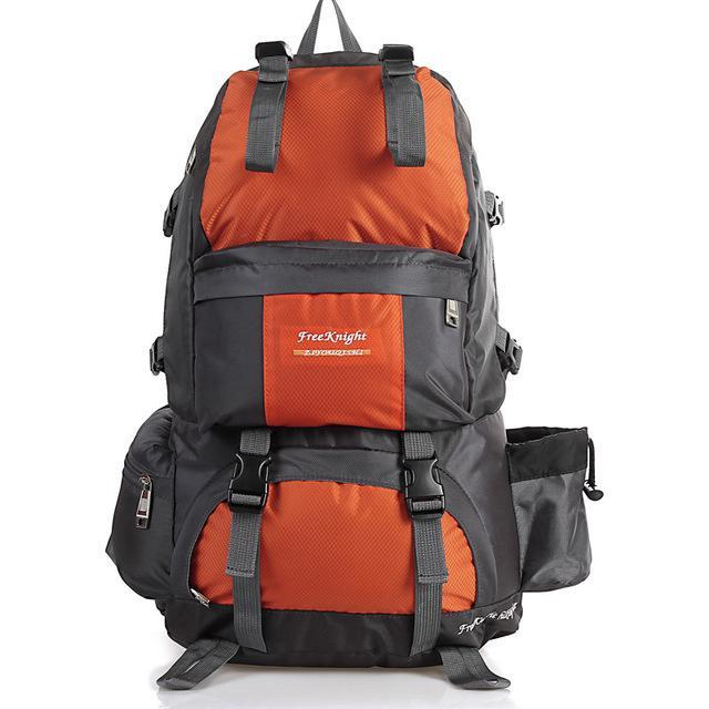 Free Knight Hiking Backpack 50L Waterproof Sports Bag Big Capacity Outdoor-Style Me Fitness Sport-Orange-Bargain Bait Box