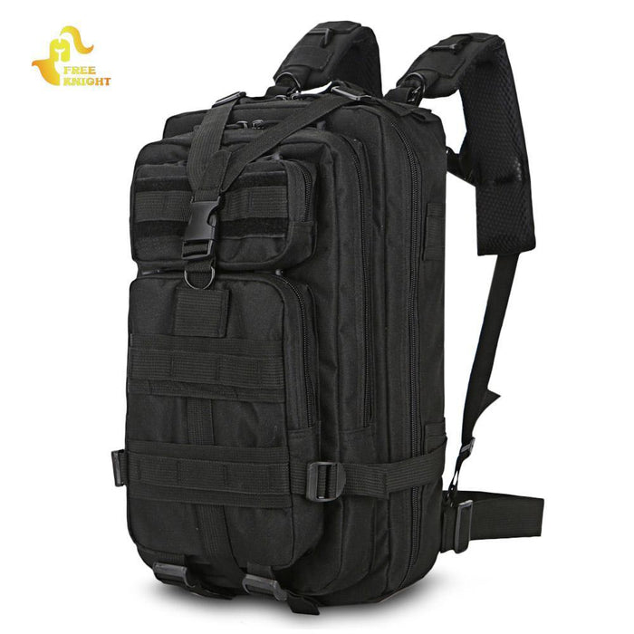 Free Knight Military Tactical Backpack 3 Day Assault Pack Army Molle Bug  Out Bag-Free 74f251ace1