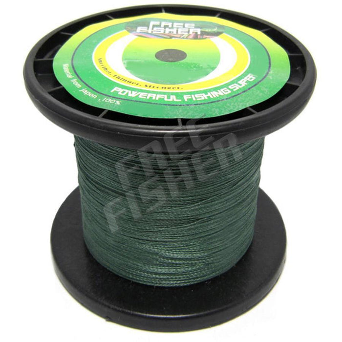 Freefisher 1000M Pe Braided Fishing Line Strong Japan Multifilament Lines-Amur Sports-0.3-Bargain Bait Box