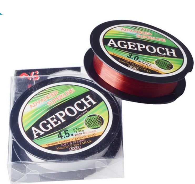 Freefisher 2Pcs/Pack 100M Nylon Monofilament Fishing Line Rope The Peche Cord-Amur Sports-0.4-Bargain Bait Box
