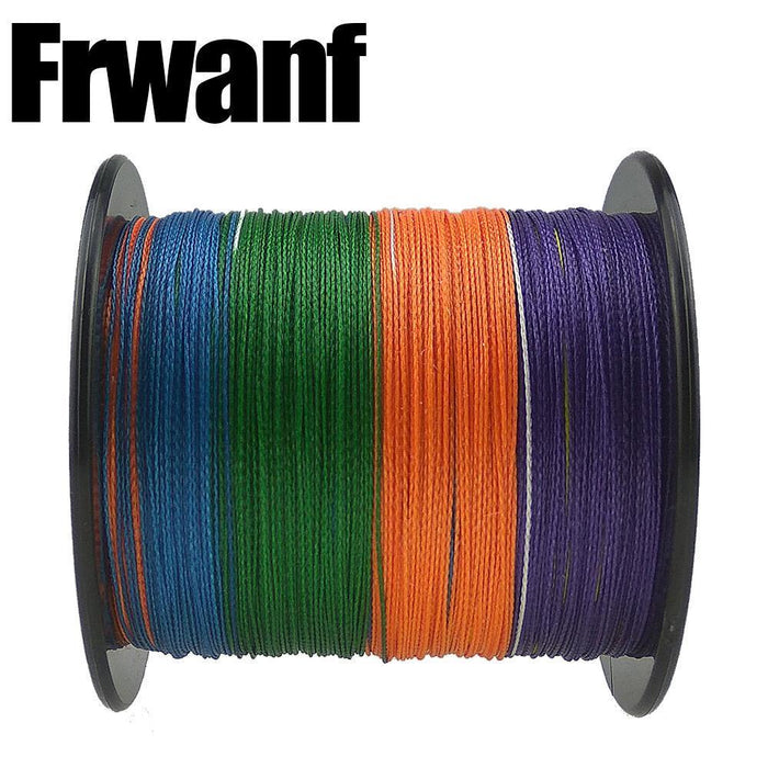 Frwanf 300M 4 Strands Freshwater/Saltwater Pe Line 12-100Lb Multicolor-Frwanf Official Store-1.0-Bargain Bait Box