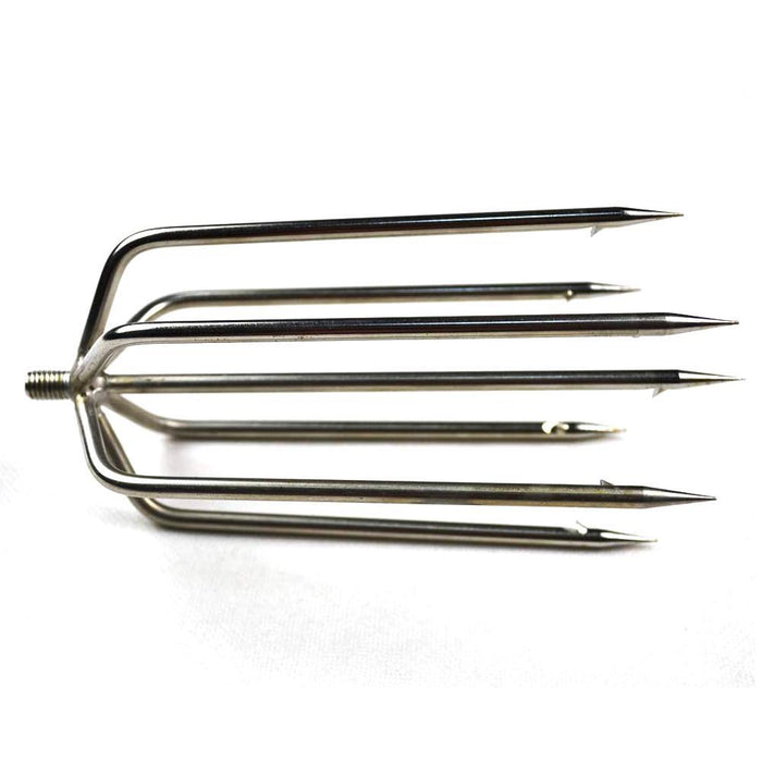 Fs212 Stainless Steel Sharp Barbed 7 Prong Fishing Spear For Ice Fishing Night-Spearfishing-Bargain Bait Box-Bargain Bait Box