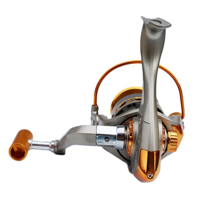 Full Aluminum Fishing Spin Reel 3Bb 5.2:1 Super Strong Ocean Lake Boat Fishing-Spinning Reels-FashionYK-S Outdoor Store-1000 Series-Bargain Bait Box
