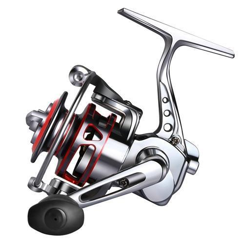Full Metal Fishing Spinning Reel Max Drag 8-10Lb Palm Mini Ice Fishing Reel-Spinning Reels-Goture Fishing Store-Silver-Bargain Bait Box