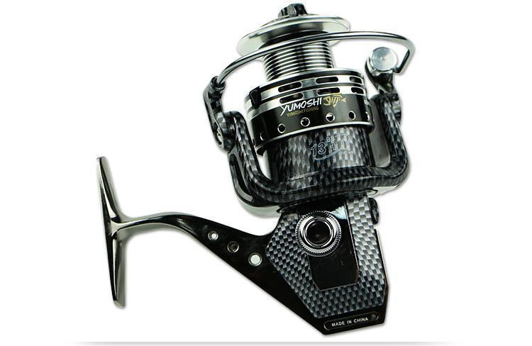 Full Metal Fishing Vessel Snakeskin 13 + 1 Without A Gap Spinning Wheel Reel-Spinning Reels-Sports fishing products-1000 Series-Bargain Bait Box