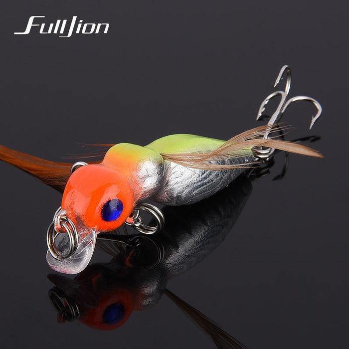 Fulljion 1 Pcs Fly Fishing Lures Wobblers Insects Lure Hooks Dry Fishing-Ali Fishing Store-01-Bargain Bait Box