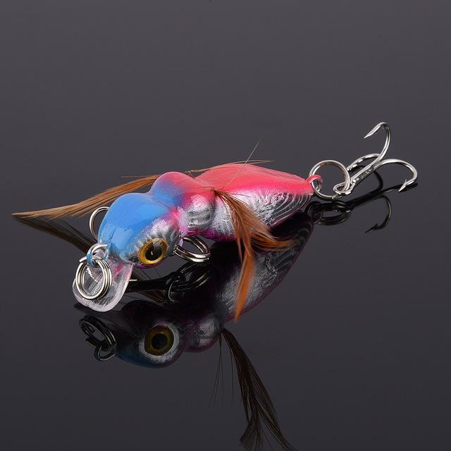 Fulljion 1 Pcs Fly Fishing Lures Wobblers Insects Lure Hooks Dry Fishing-Ali Fishing Store-02-Bargain Bait Box