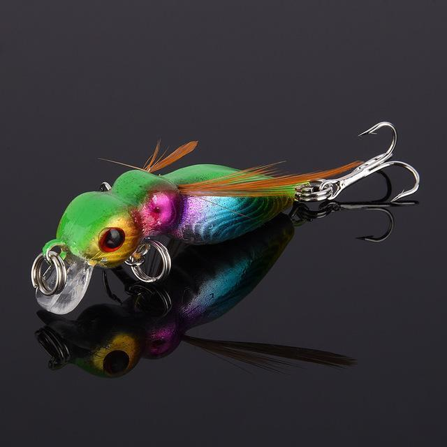 Fulljion 1 Pcs Fly Fishing Lures Wobblers Insects Lure Hooks Dry Fishing-Ali Fishing Store-03-Bargain Bait Box