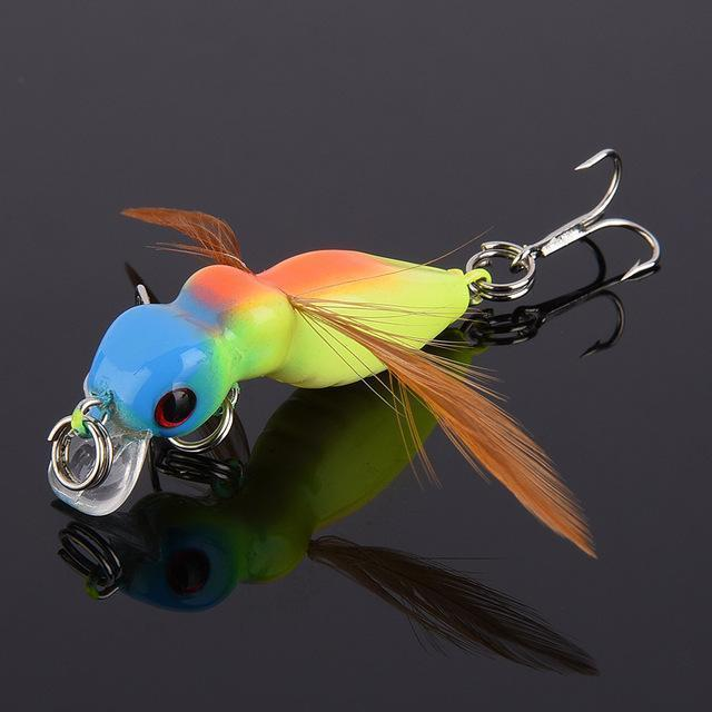 Fulljion 1 Pcs Fly Fishing Lures Wobblers Insects Lure Hooks Dry Fishing-Ali Fishing Store-06-Bargain Bait Box
