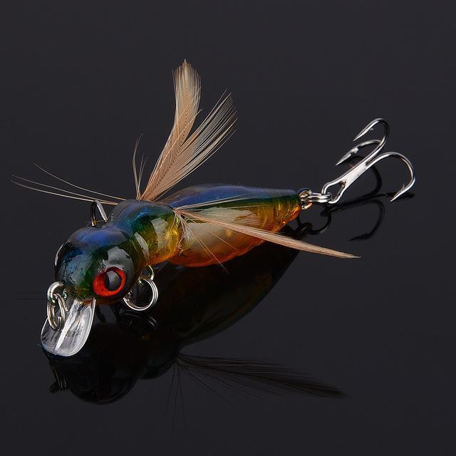 Fulljion 1 Pcs Fly Fishing Lures Wobblers Insects Lure Hooks Dry Fishing-Ali Fishing Store-07-Bargain Bait Box