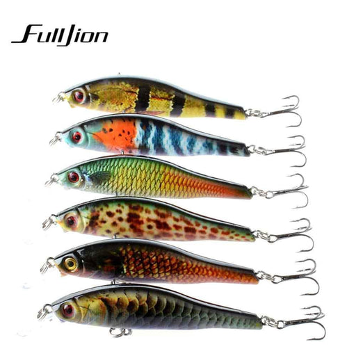 Fulljion 9.5Cm 11.5G Minnow Fishing Lures Abs Plastic Painting Series Lifelike-Ali Fishing Store-01-Bargain Bait Box