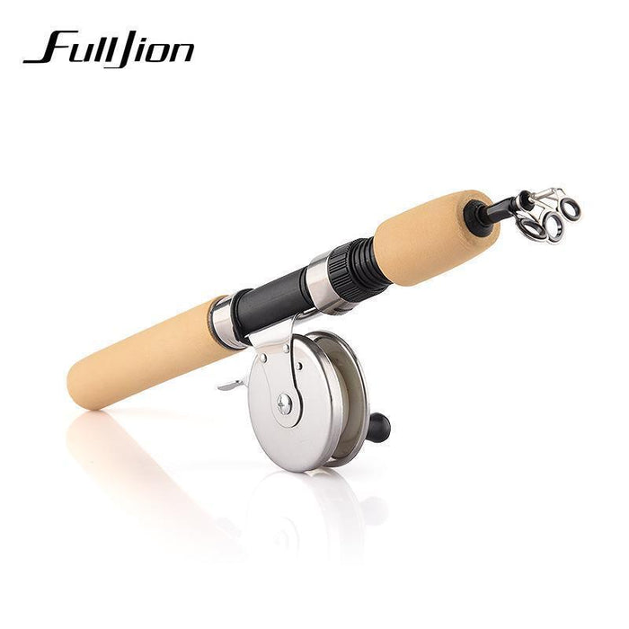 Fulljion Fishing Reels For Winter Ice Fly Fishing Rods Spinning Stainless-Ali Fishing Store-Bargain Bait Box