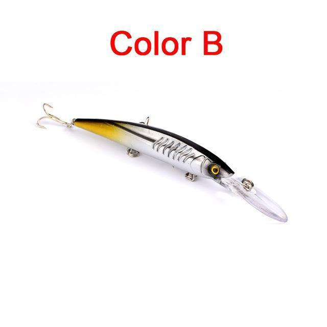 Fulljion Hard Minnow Fishing Lures Wobblers For Fising Freshwater Bass Tackle-Ali Fishing Store-B-Bargain Bait Box