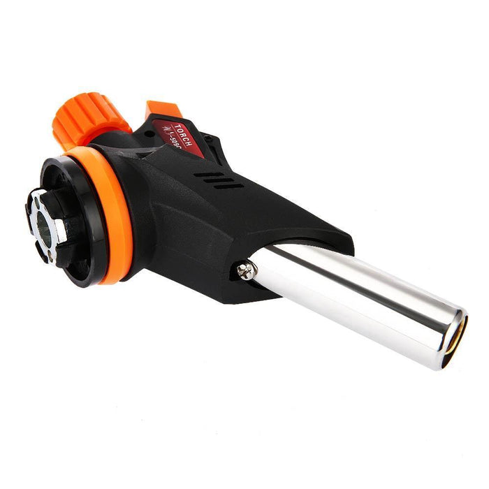 Gas Torch Flame Gun Blowtorch Cooking One-Touch Automatic Multifunctional-Qtop-Bargain Bait Box