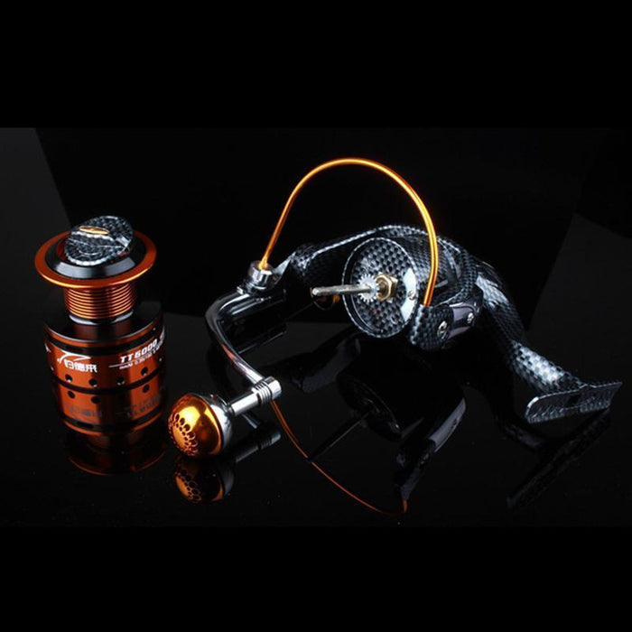 German Technology Fishing Reel 12Bb 1000 -7000 Spinning Reel Carpa Molinete-Spinning Reels-ArrowShark fishing gear shop Store-1000 Series-Bargain Bait Box