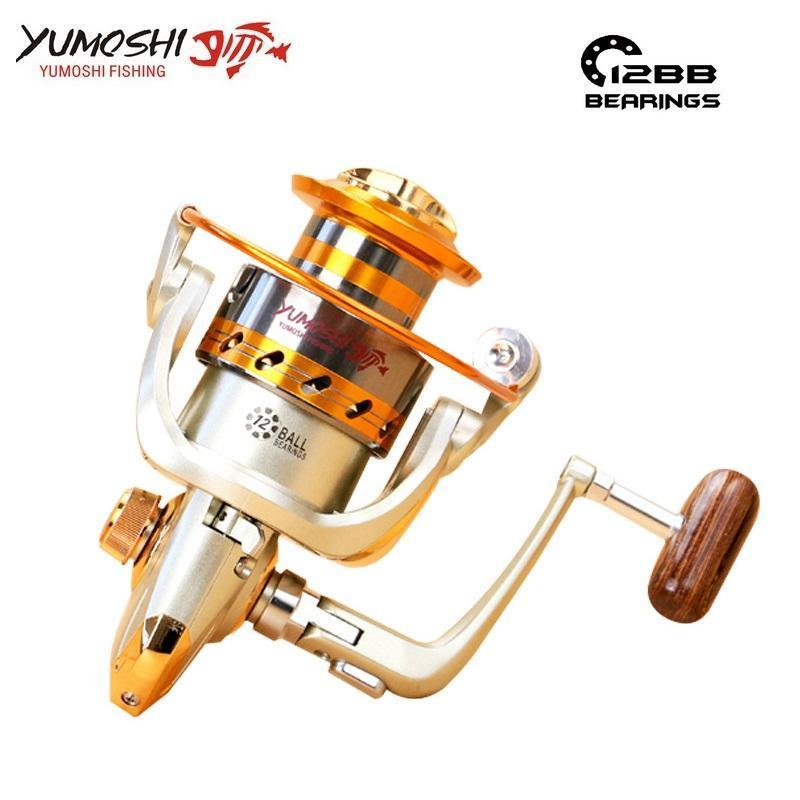 German Technology Spinning Fishing Reel Ef500-9000 12 Bb 5.5:1 Left Right Hand-Spinning Reels-TinyBear's Store-1000 Series-Bargain Bait Box