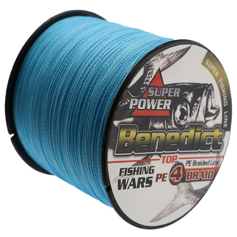 Good Quality Braided Fishing Line 500M Pe Super Japan Multifilament Line Blue-WuHe Pro Fishing tackle-0.4-Bargain Bait Box