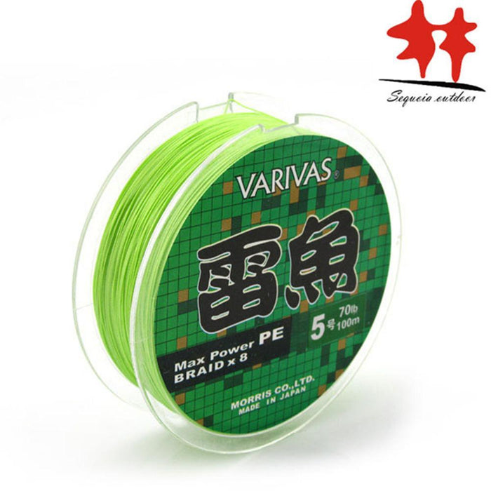 Good Quality Light Green 8 Strands Max Power Pe Braided Fishing Line-Sequoia Outdoor (China) Co., Ltd-1.0-Bargain Bait Box