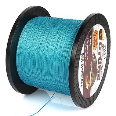 Goture 500M Braided Fishing Line 4 Stands Pe Multifilament Carp Fish Lines-Pisfun fishing store-Blue-0.4-Bargain Bait Box