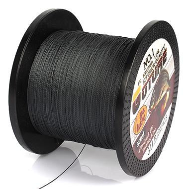 Goture 500M Braided Fishing Line 4 Stands Pe Multifilament Carp Fish Lines-Pisfun fishing store-Dark Grey-0.4-Bargain Bait Box