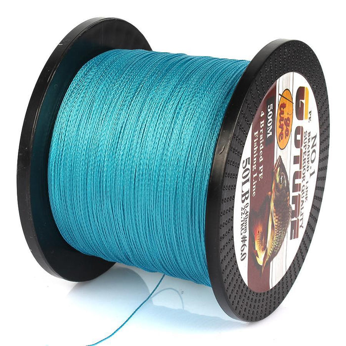 Goture 500M Braided Fishing Line 4 Stands Pe Multifilament Carp Fish Lines-Pisfun fishing store-White-0.4-Bargain Bait Box