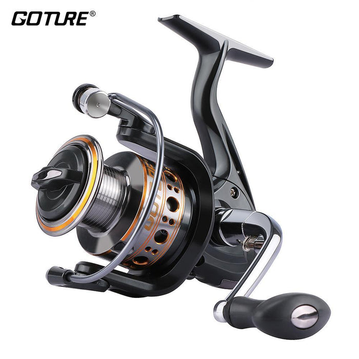 Goture Metal Spool Fishing Reels Spinning Reel Coil Max Drag 10Kg Right/Left-Spinning Reels-Goture Fishing Tackle Store-1000 Series-Bargain Bait Box