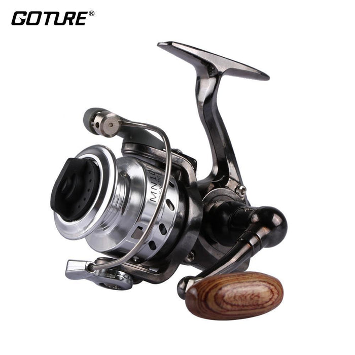 Goture Mn100 Mini Spinning Reel 4.3:1 Small Ice Fishing Reel Carp Feeder Fishing-Spinning Reels-Pisfun fishing store-Bargain Bait Box