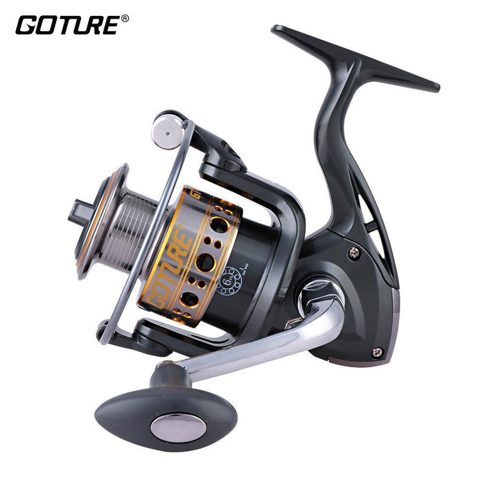 Goture Quality Spinning Fishing Reel 6 Ball Bearings +1 Roller Bearing 1000-7000-Spinning Reels-Pisfun fishing store-1000 Series-Bargain Bait Box