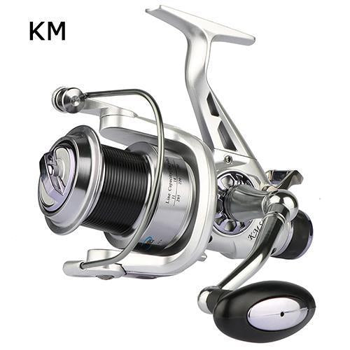Goture Spinning Fishing Reel Double Brake Carp Fishing Feeder Fishing Wheel 11-Spinning Reels-Goture Fishing Store-KM-5000 Series-Bargain Bait Box
