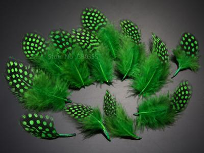 Guinea Hen Feather Hackle Fly Tying Material Hand Selected, 4.5 To 6.5Cm-Fly Tying Materials-Bargain Bait Box-Green-Bargain Bait Box